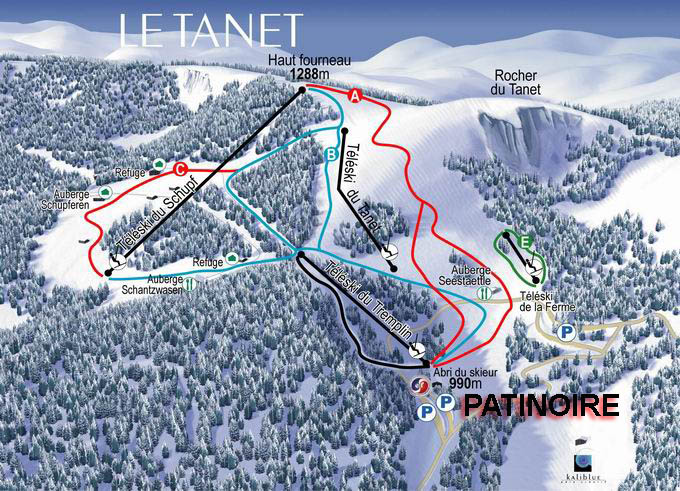 bourse ski alsace